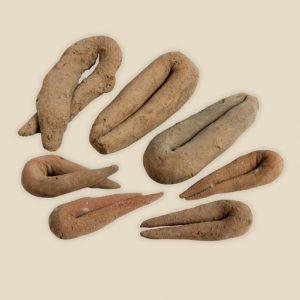 clay food offerings