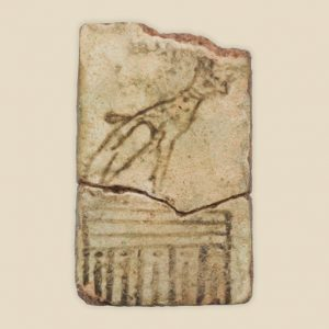 votive plaque to Hathor (cat)