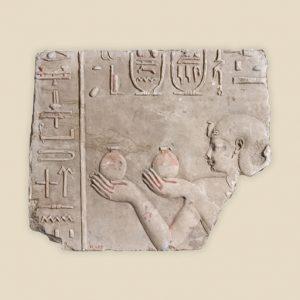 offering scene Ptolemy Soter