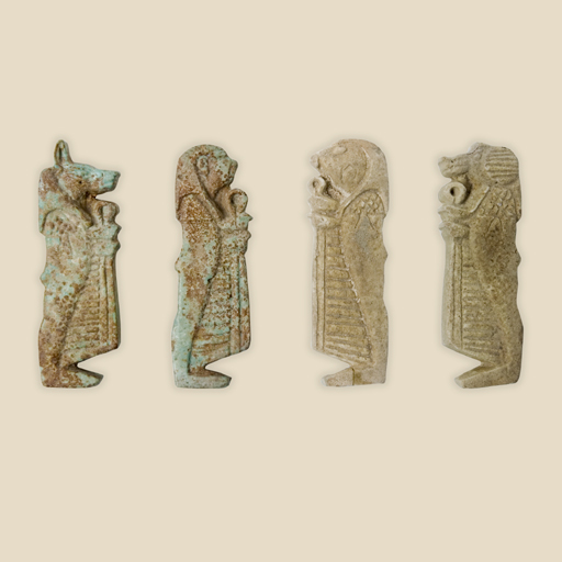 sons of Horus amulets