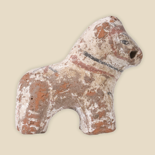 clay toy horse