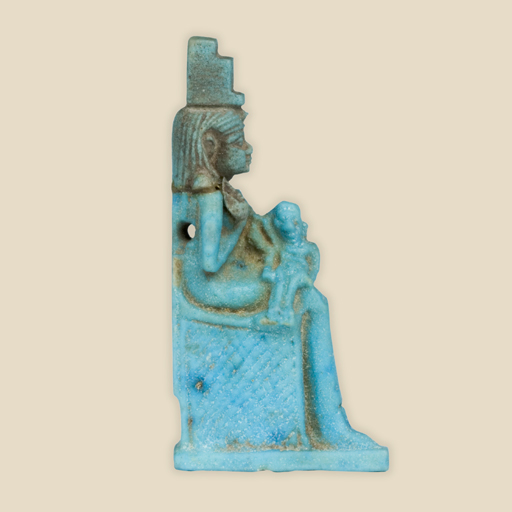 Isis and Horus amulet