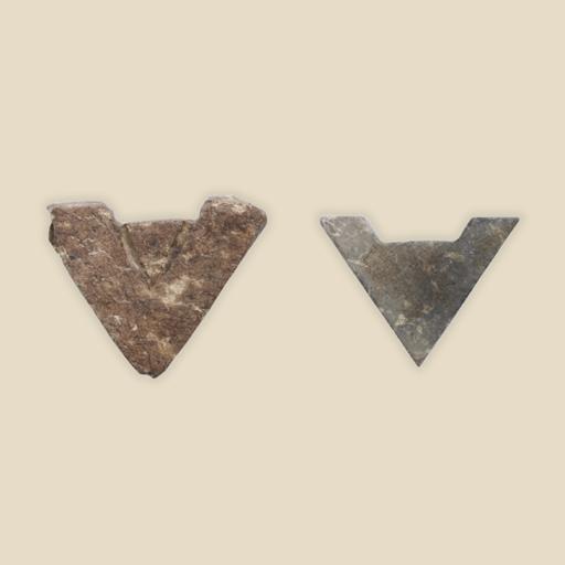 plumb line amulet