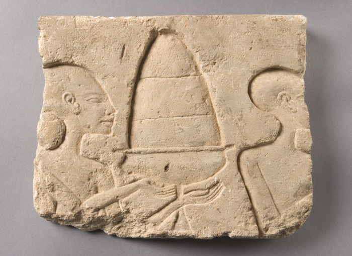 Tomb wall relief