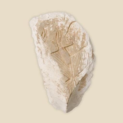 stone frag showing tunic