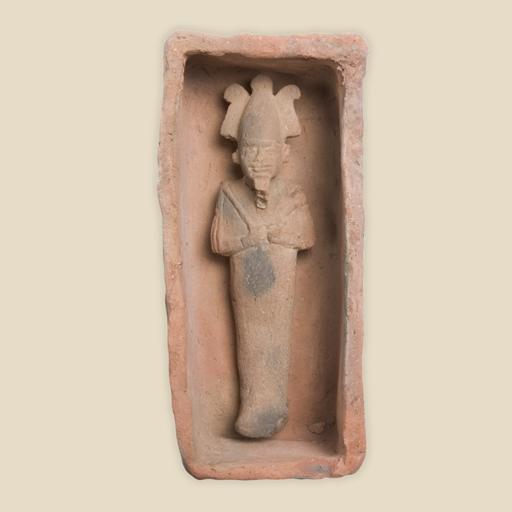 Osiris in coffin