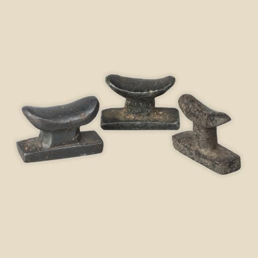 Headrest amulets